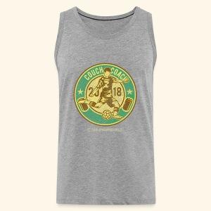 Couch Coach 2018 T-Shirts - Männer Premium Tank Top