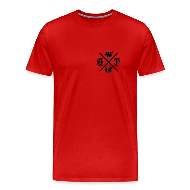 Premium Pulli Unisex // BWF Crewlogo + Backprint - Männer Premium T-Shirt