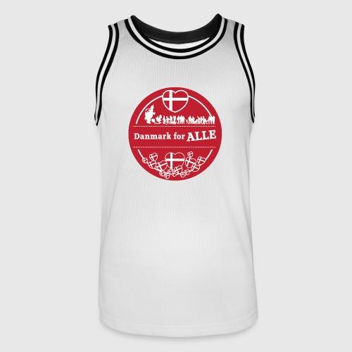 Danmark for ALLE - Herre basketball-trikot