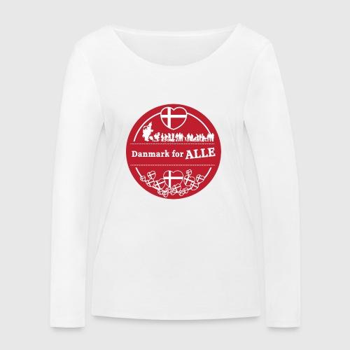 Danmark for ALLE - Økologisk Stanley & Stella langærmet T-shirt til damer