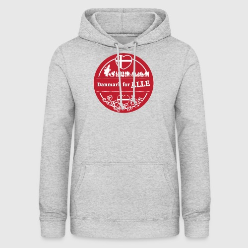 Danmark for ALLE - Dame hoodie