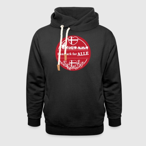 Danmark for ALLE - Hoodie med sjalskrave