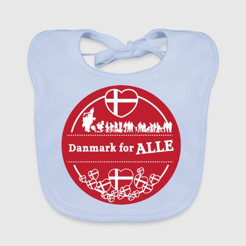 Danmark for ALLE - Baby økologisk hagesmæk