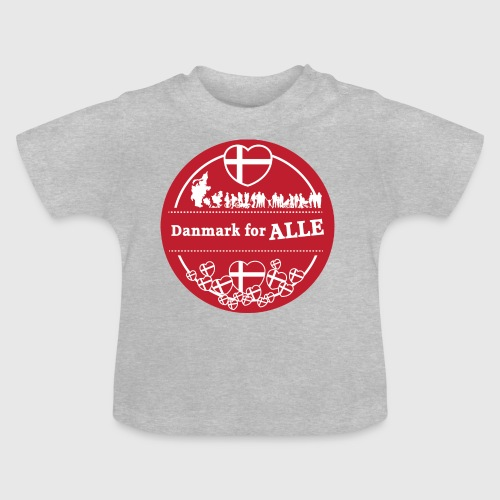 Danmark for ALLE - Baby T-shirt