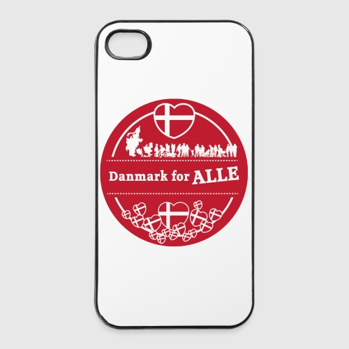 Danmark for ALLE - iPhone 4/4s Hard Case