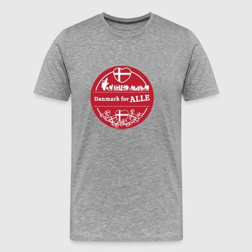 Danmark for ALLE - Herre premium T-shirt