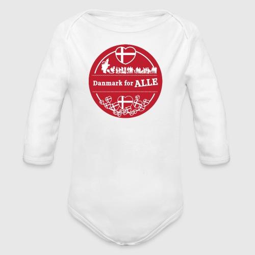 Danmark for ALLE - Langærmet babybody, økologisk bomuld
