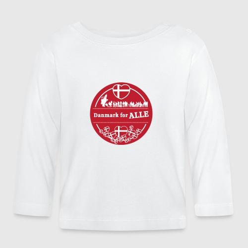 Danmark for ALLE - Langærmet babyshirt