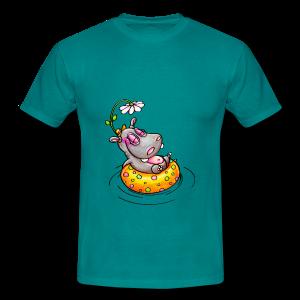 gym bag hippo - Männer T-Shirt