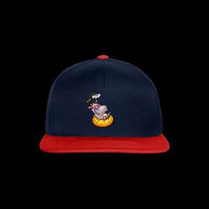 gym bag hippo - Snapback Cap