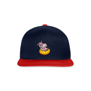 gym bag hippo - Snapback Cap