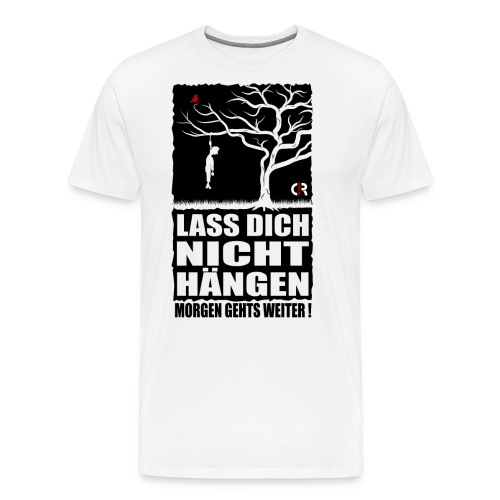 Abhängen - weis - Männer Premium T-Shirt