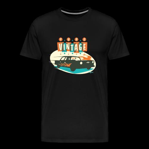 Pure Vintage Car - T-shirt Premium Homme