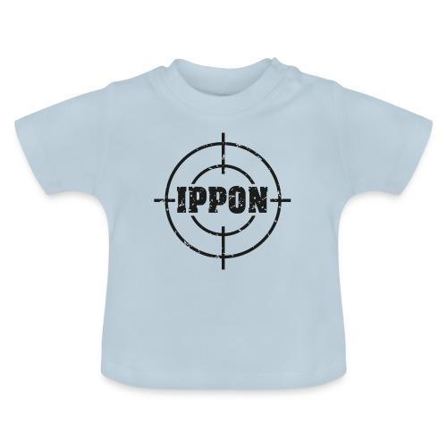 Target Judo-Ippon schwarz Grunge Karsten - Baby T-Shirt