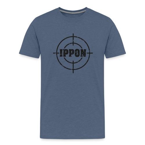 Target Judo-Ippon schwarz Grunge Karsten - Teenager Premium T-Shirt