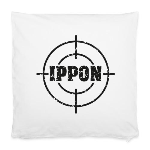 Target Judo-Ippon schwarz Grunge Karsten - Kissenbezug 40 x 40 cm