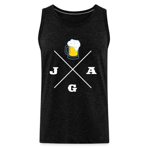 JGA Bier - JGA-Shirt - Männer Premium Tank Top