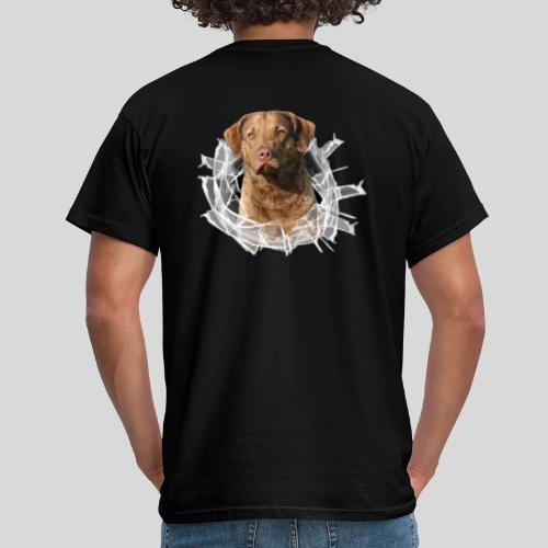 Chessie im Glasloch - Männer T-Shirt