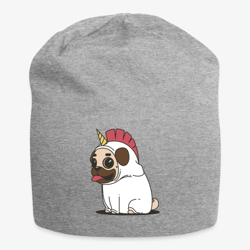 Unicorn pug - Jersey Beanie