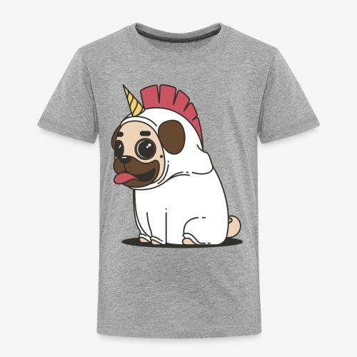 Unicorn pug - Kids' Premium T-Shirt