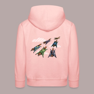 Flying Fox Formation Squad Team - Kids' Premium Hoodie