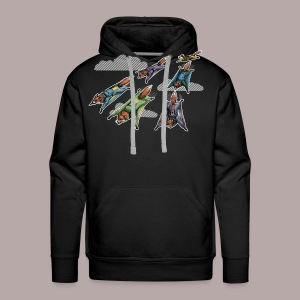 Flying Fox Formation Squad Team - Men's Premium Hoodie