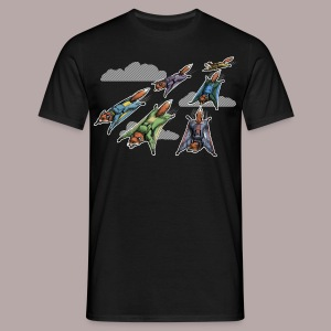 Flying Fox Formation Squad Team - Men's T-Shirt