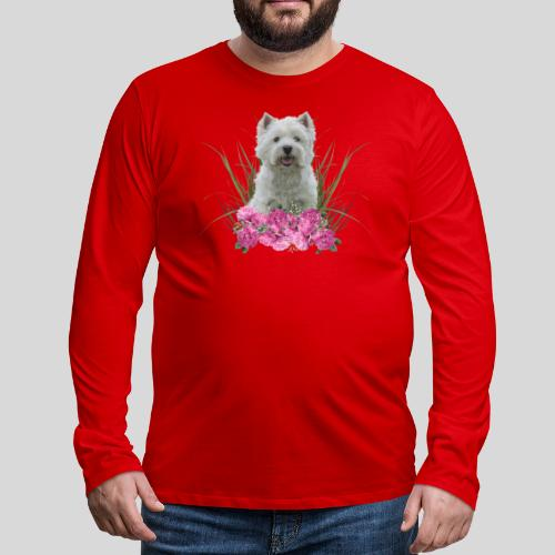 West Highland Terrier - Männer Premium Langarmshirt