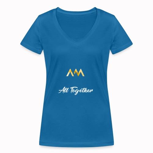All Together Tee-Shirt  - T-shirt bio col V Stanley & Stella Femme