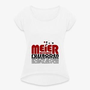 Sport BAG - Frauen T-Shirt mit gerollten Ärmeln
