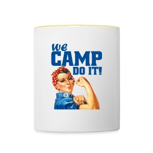 We CAMP do it! - BaseCap - Tasse zweifarbig