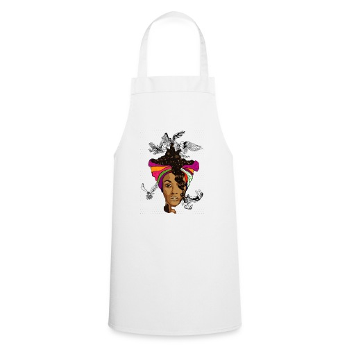 On Angel Wings - Cooking Apron