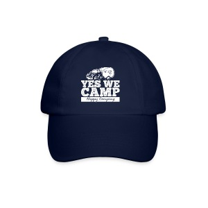 Yes we camp! - UNISEX Hoodie - Baseballkappe