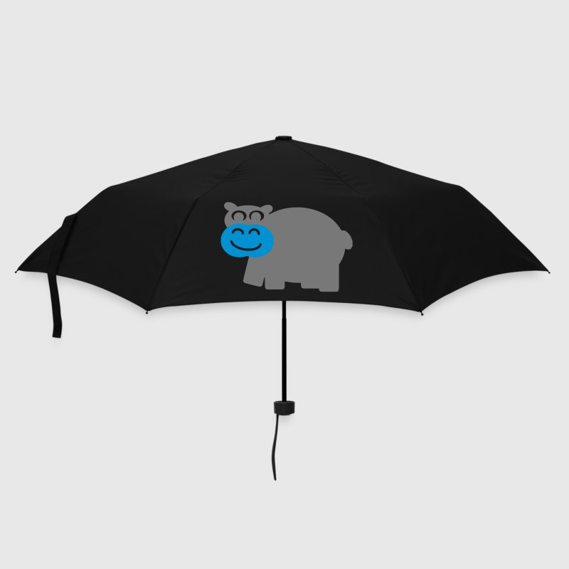 Lila Hippo Umbrellas - Umbrella (small)