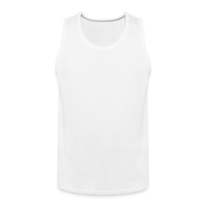 hello there how are you?  I am good.  thanks for asking.  and yourself? - Men's Premium Tank Top