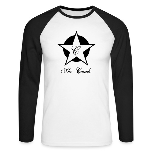 Star - T-shirt baseball manches longues Homme