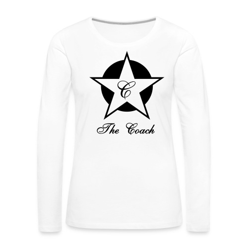 Star - T-shirt manches longues Premium Femme