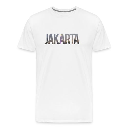 Jakarta vrouwen shirt - Mannen Premium T-shirt