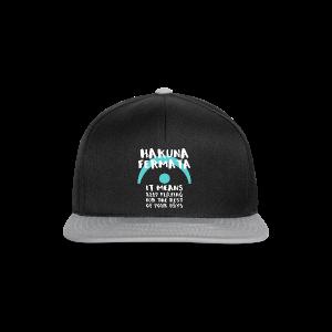 Herren-Shirt Hakuna Fermata - Snapback Cap