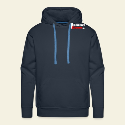 Island Cruisers - Herre Premium hættetrøje