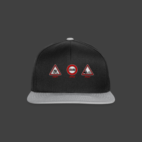 DRIFT - DRAG - RALLY - Casquette snapback