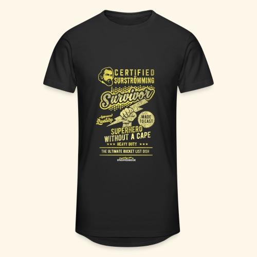 Certified Surstromming Survivor - Männer Urban Longshirt