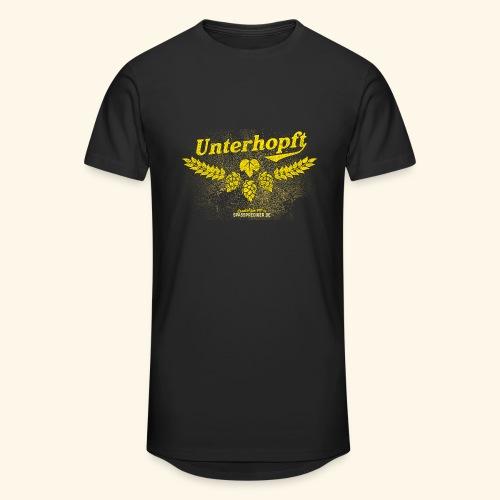 Unterhopft - das Original, distressed - Männer Urban Longshirt