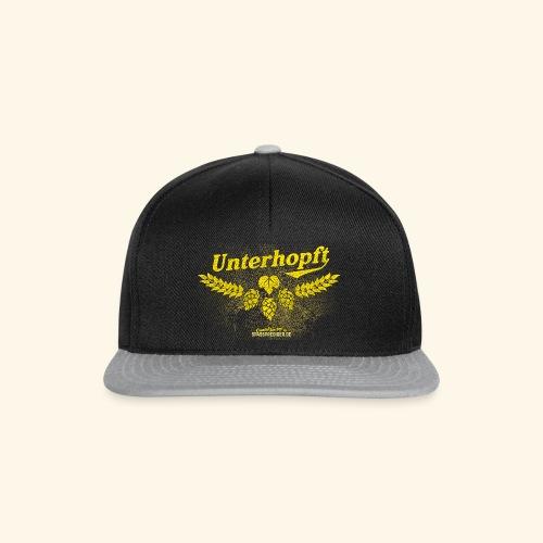 Unterhopft - das Original, distressed - Snapback Cap