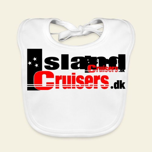 Island Cruisers black - Baby økologisk hagesmæk