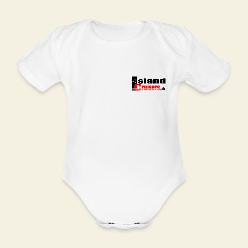 Island Cruisers black - Kortærmet babybody, økologisk bomuld