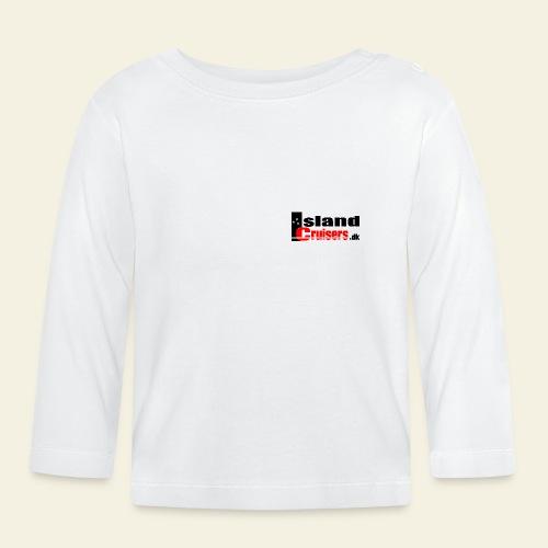 Island Cruisers black - Langærmet babyshirt