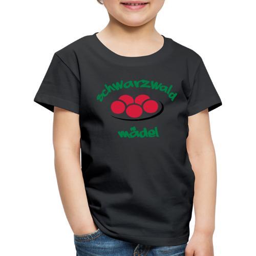 Kinder Premium T-Shirt - Tradition,Tracht,Schwarzwaldmädel,Schwarzwald,Kultur,Heimat,Dorfkind,Deutschland,Bollenhut,Baden-Württemberg