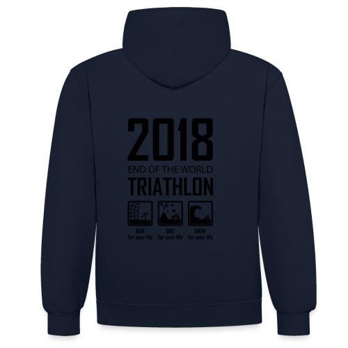 2018 Triathlon - Contrast hoodie