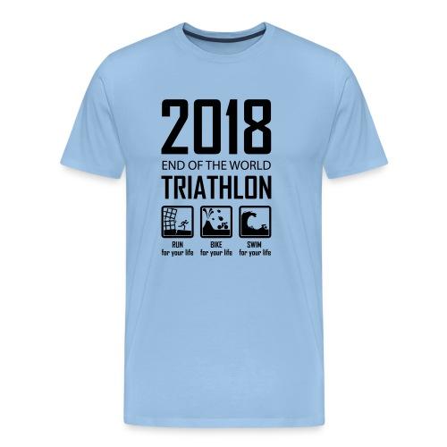 2018 Triathlon - Mannen Premium T-shirt